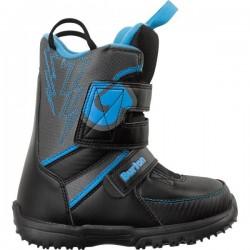 Ботинки детские для сноуборда Burton GROM BLACK/GRAY/BLUE