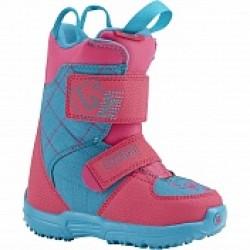 Ботинки детские для сноуборда Burton MINI-GROM Pink/Teal 15-16