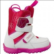 Ботинки детские для сноуборда Burton GROM white/pink