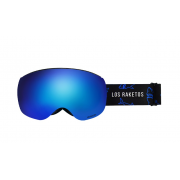 Маска Los Raketos Nemessis Blue chrom polarised