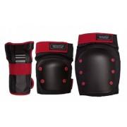 Комплект защиты дет. Los Raketos LRC-003 p-p blk/orange