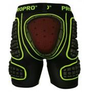 Шорты защитные ProPro SP-011 black/yellow