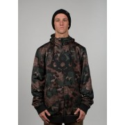 Толстовка  686 ICON BONDED ZIP FLEECE HOODY (camo)