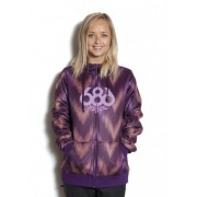 Толстовка  686 Airflight Icon Bonded Fleece Hoody (plum)