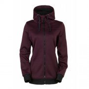 Толстовка  686 Ella Zip Bonded Fleece (blk ruby)