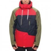 Куртка 686 MNS GEO INSULATED (red colorblock)