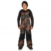 Брюки детские 686 Cornice Insulated Bib (ARMY CAMO)