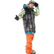 Куртка STL Jazz board J8 clothing Jacketver.2 black check2