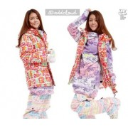 Куртка STL Dream board J6 addcloud suit jacket (Pink / Lime)