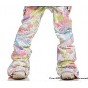 Брюки STL Flora P6 board clothing Pants Phil White (Slim Fit)