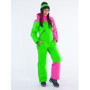 Комбинезон Snowheadquarter B-8663 (green/pink)
