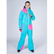 Комбинезон Snowheadquater B-8718 (turquoise/pink)