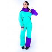 Комбинезон Snowheadquater B-8663 (violet/turquoise)