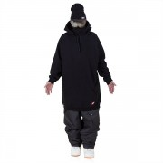 Толстовка удлиненная  NM4 ninja (black)
