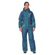 Комбинезон женский Snowheadquarter B-8871 Синий