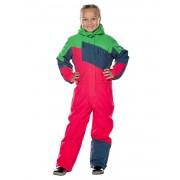 Комбинезон детский Snowheadquarter T-8811 (малиновый)