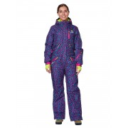 Комбинезон женский Snowheadquarter B-8871 Фиолетовый