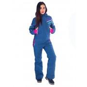 Комбинезон женский Snowheadquater В-8691 (джинсовый)