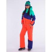 Комбинезон Snowheadquater В-8662 (оранжево-синий)