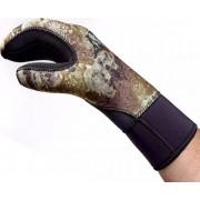 Перчатки Aquadiscovery green Camo 3-х палые 7мм