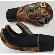 Перчатки Aquadiscovery 3 палые Camo Brown 7мм Ямамото