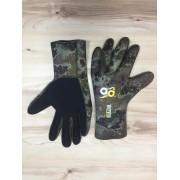 Перчатки Aquadiscovery 5 палые зел. NEW отк. пора 5мм