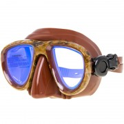 Маска Aquadiscovery Camo brown зеркальные стека