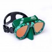 Маска Aquadiscovery  CAMO Green зекрал. стекла