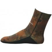Носки неопреновые Aquadiscovery 5mm camo brown откр.пора