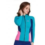 Куртка неопреновая 2мм Sbart 928 (blue/pink)
