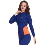 Куртка неопреновая 2мм Sbart 928 (blue/orange)