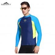 Футболка Sbart M713 (blue/lomon)
