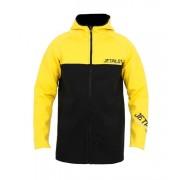Куртка неопреновая Jetpilot Flight Hooded Coat Black/Yellow