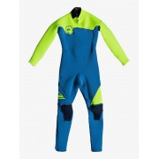 Гидрокостюм Quiksilver K32 SYN BZ squale blue/safety yellow