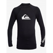 Гидромайка Quiksilver дет. с длин. рук. All Time UPF 50 black