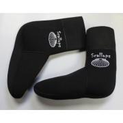 Носки неопреновые Scallops 5mm (black)