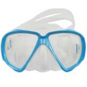 Маска Scallops M28 white/blue