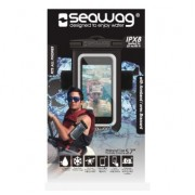Чехол для смартфона с повязкой и разъемом для наушников Seawag Black