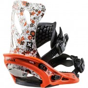 Крепления для сноуборда Flux GS 17-18 (Orange)
