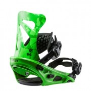 Крепления для сноуборда Flux DS 17-18 (Luminous Green)