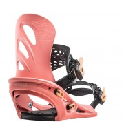 Крепления для сноуборда Flux GU Salmon Pink S20