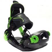 Крепления для сноуборда Rage Kiddo (black/green) S18