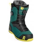 Ботинки для сноуборда NIDECKER Triton focus (teal) S19