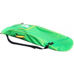 чехол для лыж Pog S1  lime green 156cm