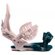 Крепления для сноуборда NIDECKER Kaon W Lilac/Green S21