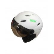 Шлем Snowy с визером M-05 White