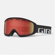 маска GIRO Index Black Wordmark/Amber Rose S21