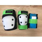 Комплект защиты дет. Los Raketos LRC-003 blk/green