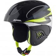 Шлем Alpina CARAT (charcoal/neon yellow)