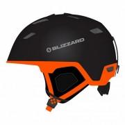 Шлем Blizzard S19 Double ski black matt/neon orange